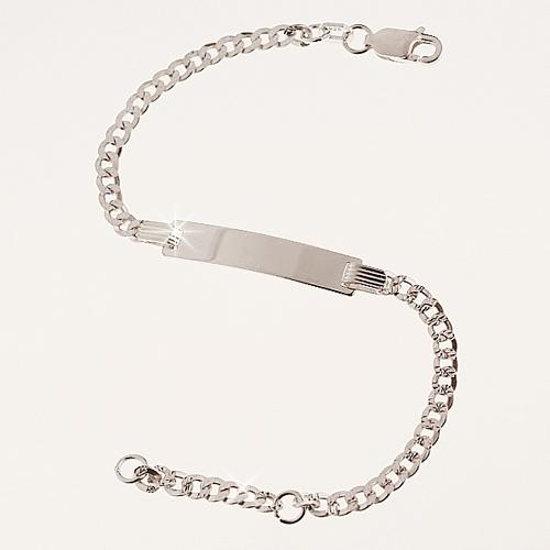 so billig erstaunlicher Preis Rabatt zum Verkauf Baby Armband aus Silber mit Gravur Armband