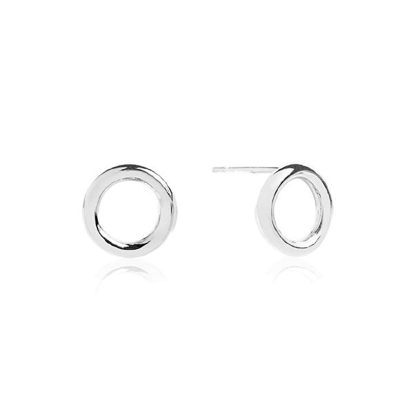 San Francisco berühmte Designermarke berühmte Designermarke Sif Jakobs Ohrringe Kreis 12 mm aus 925 Silber