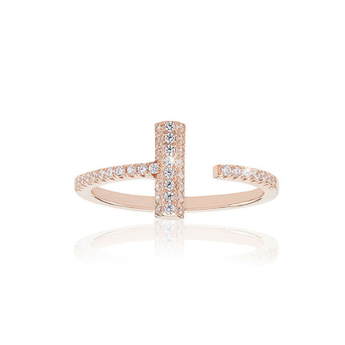 Sif Jakobs Damen Ring rose Gold Piccolo